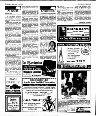The Salina Journal from Salina, Kansas on October 14, 1996 · Page 18