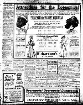 Iola Daily Register And Evening News from Iola, Kansas on December 4, 1908 · Page 3