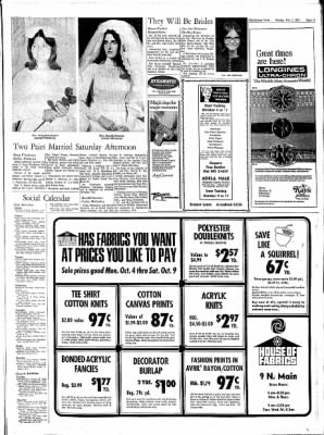 The Hutchinson News from Hutchinson, Kansas on October 3, 1971 · Page 42
