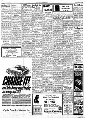 The Tipton Daily Tribune from Tipton, Indiana on April 2, 1965 · Page 6