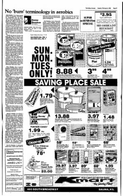 The Salina Journal from Salina, Kansas on February 2, 1986 · Page 17