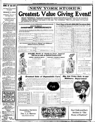 Iola Daily Register And Evening News from Iola, Kansas on December 4, 1908 · Page 8