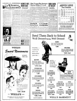 The Bakersfield Californian from Bakersfield, California on September 1, 1944 · Page 8