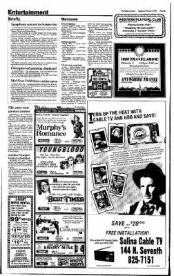 The Salina Journal from Salina, Kansas on February 2, 1986 · Page 36