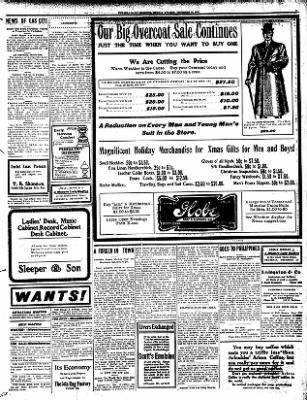 Iola Daily Register And Evening News from Iola, Kansas on December 16, 1907 · Page 3