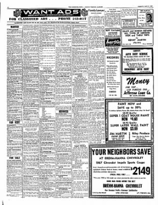 Mt Vernon Register News From Illinois On May 8 1967 Page 12