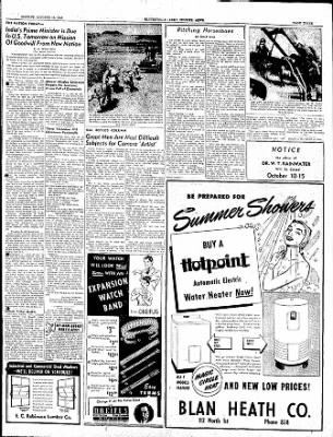 The Courier News from Blytheville, Arkansas on October 10, 1949 · Page 3
