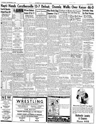 The Courier News from Blytheville, Arkansas on September 24, 1949 · Page 7