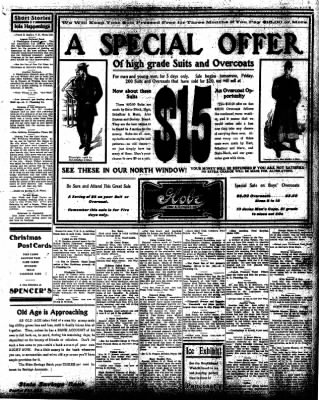 Iola Daily Register And Evening News from Iola, Kansas on December 10, 1908 · Page 5