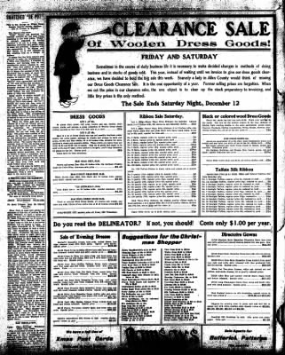 Iola Daily Register And Evening News from Iola, Kansas on December 10, 1908 · Page 6