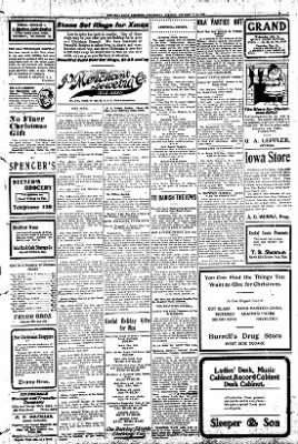Iola Daily Register And Evening News from Iola, Kansas on December 18, 1907 · Page 5