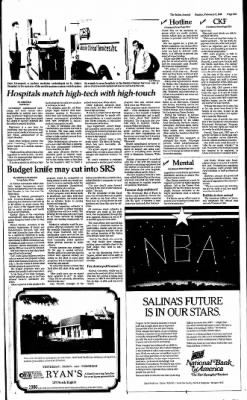 The Salina Journal from Salina, Kansas on February 2, 1986 · Page 71