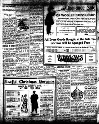 Iola Daily Register And Evening News from Iola, Kansas on December 11, 1908 · Page 8