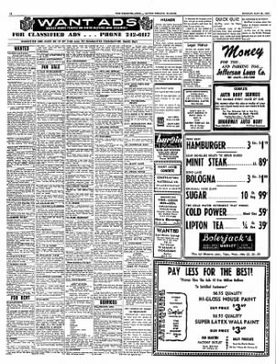 Mt Vernon Register News From Illinois On May 22 1967 Page 12