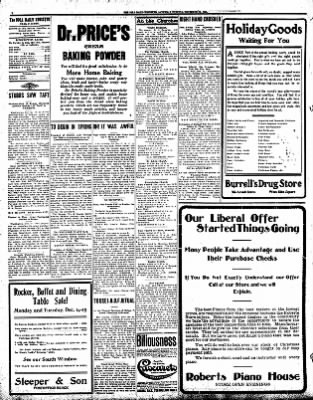 Iola Daily Register And Evening News from Iola, Kansas on December 12, 1908 · Page 4
