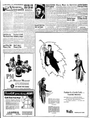 The Bakersfield Californian from Bakersfield, California on September 5, 1944 · Page 8