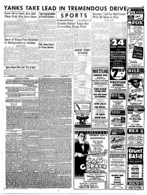 The Bakersfield Californian from Bakersfield, California on September 5, 1944 · Page 13