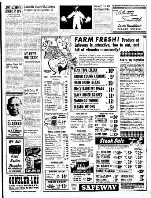 The Bakersfield Californian from Bakersfield, California on September 6, 1944 · Page 3