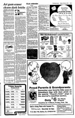 The Salina Journal from Salina, Kansas on February 3, 1986 · Page 7