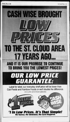 St  Cloud Times from Saint Cloud, Minnesota on May 2, 1999
