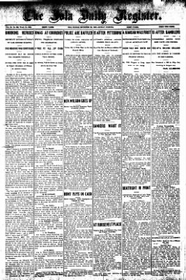 Iola Daily Register And Evening News from Iola, Kansas on December 23, 1907 · Page 1