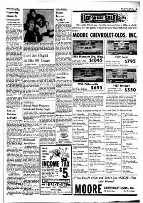 The Ottawa Herald from Ottawa, Kansas on March 13, 1963 · Page 3