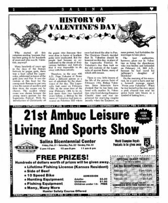 The Salina Journal from Salina, Kansas on February 3, 1986 · Page 20