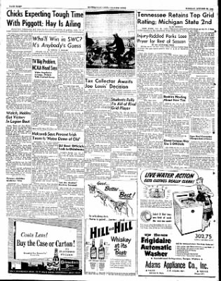 The Courier News from Blytheville, Arkansas on October 30, 1951 · Page 6