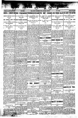 Iola Daily Register And Evening News from Iola, Kansas on December 26, 1907 · Page 1