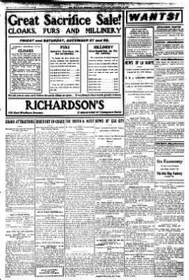 Iola Daily Register And Evening News from Iola, Kansas on December 26, 1907 · Page 3