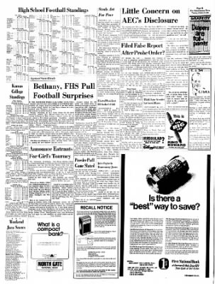 The Hutchinson News from Hutchinson, Kansas on October 5, 1971 · Page 41