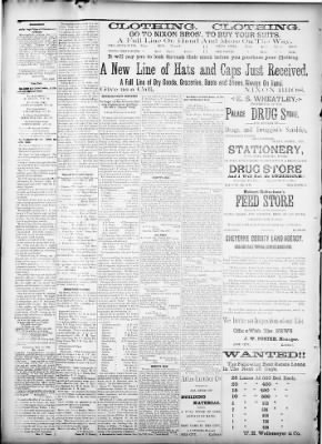 Bird City News from Bird City, Kansas on September 27, 1888 · Page 4