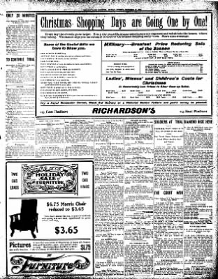 Iola Daily Register And Evening News from Iola, Kansas on December 21, 1908 · Page 3