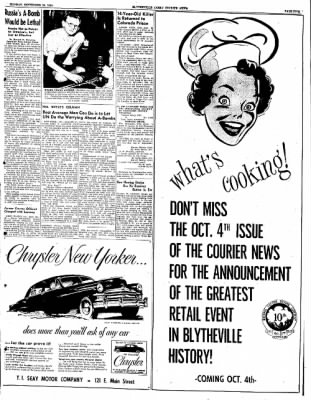 The Courier News from Blytheville, Arkansas on September 26, 1949 · Page 5
