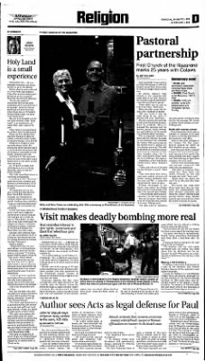The Salina Journal from Salina, Kansas on April 28, 2001 · Page 21
