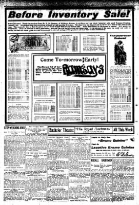 Iola Daily Register And Evening News from Iola, Kansas on January 1, 1908 · Page 6