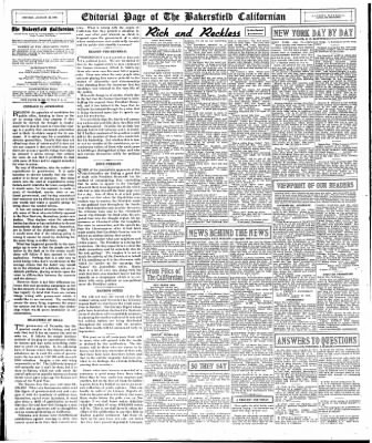 The Bakersfield Californian from Bakersfield, California on August 24, 1936 · Page 18