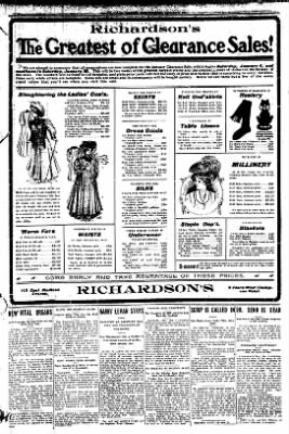 Iola Daily Register And Evening News from Iola, Kansas on January 3, 1908 · Page 3