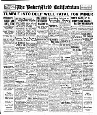 The Bakersfield Californian from Bakersfield, California on August 25, 1936 · Page 7