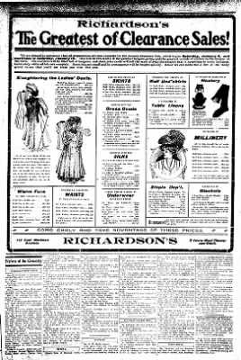 Iola Daily Register And Evening News from Iola, Kansas on January 4, 1908 · Page 3