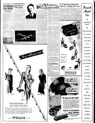 The Bakersfield Californian from Bakersfield, California on September 12, 1944 · Page 6