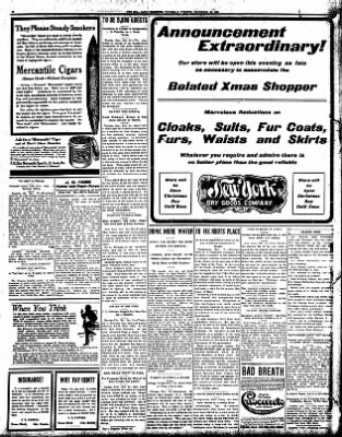 Iola Daily Register And Evening News from Iola, Kansas on December 24, 1908 · Page 6