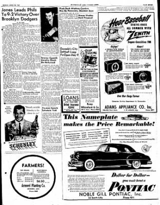 The Courier News from Blytheville, Arkansas on April 28, 1950 · Page 7
