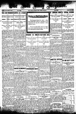 Iola Daily Register And Evening News from Iola, Kansas on January 7, 1908 · Page 1
