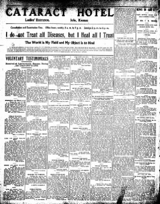 Iola Daily Register And Evening News from Iola, Kansas on December 28, 1908 · Page 6