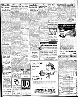 The Courier News from Blytheville, Arkansas on June 25, 1947 · Page 5