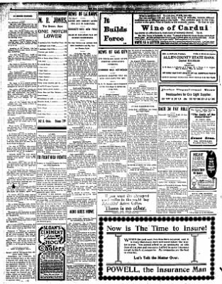 Iola Daily Register And Evening News from Iola, Kansas on January 8, 1908 · Page 6