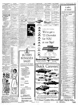 The Hutchinson News from Hutchinson, Kansas on October 6, 1971 · Page 24