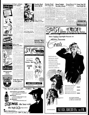 The Bakersfield Californian from Bakersfield, California on September 14, 1944 · Page 6