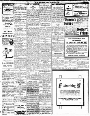 Iola Daily Register And Evening News from Iola, Kansas on January 9, 1908 · Page 5